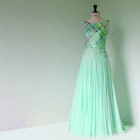 IBO chiffon dress mint