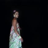 IBO dress, Model: Kristina Leganger Hair & makeup: Maren Anna Olstad/CLOU Enamel jewelry designed by IBO/OPRO