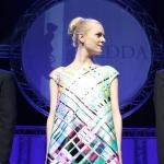 Mariann Hole wearing IBOat the Hedda award