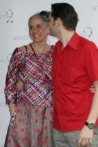 Designer Tina Haagensen wearing IBO jacket