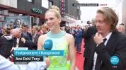"Norwegian actress Ane Dahl Torp and actor Kristoffer Joner at the opening night of ""Skjelvet""."