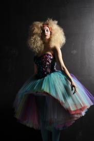 IBO mermaid tulle dress