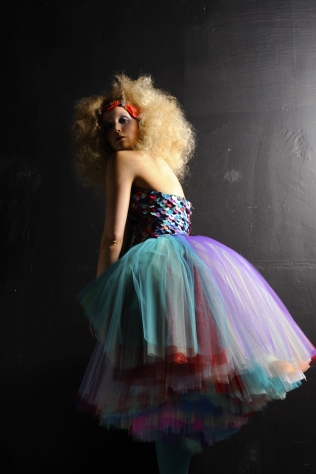 IBO mermaid tulle dress
