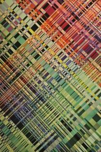IBO woven textile art
