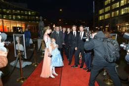 """Norwegian actress Iben Akerlie at the opening night of """"Victoria"""" in 2013"""